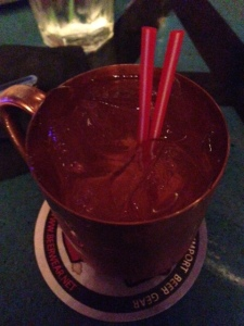 Spicy Moscow Mule - the faces I made during this were quite entertaining but it really was good... Just FIRE
